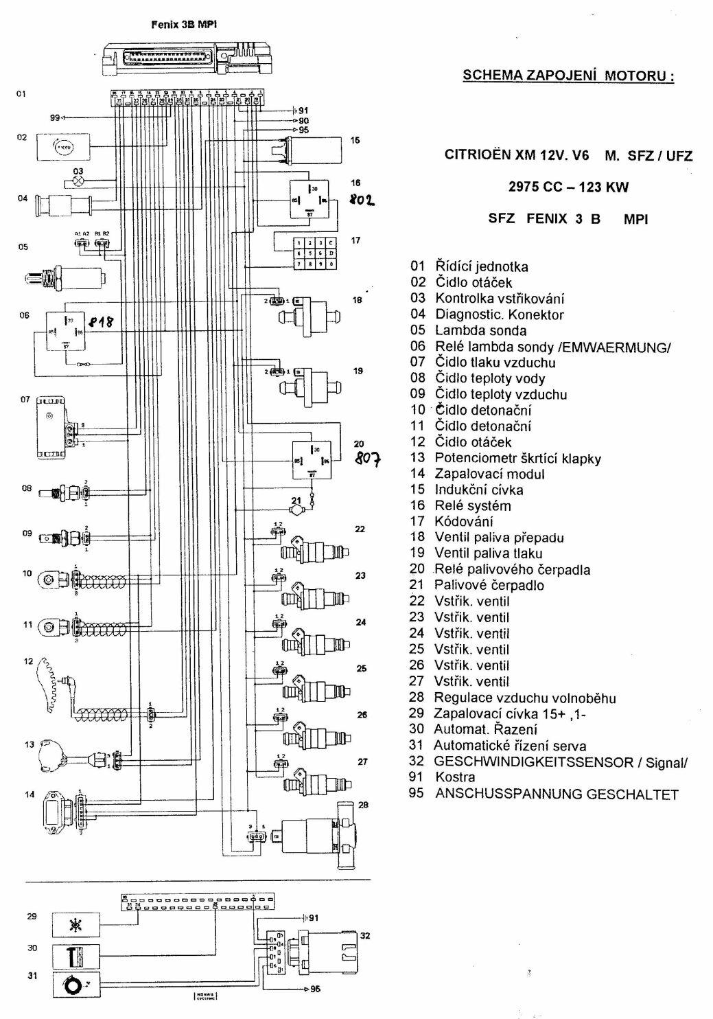 Opel Wiring Diagram Images El Motoru V6 12v On